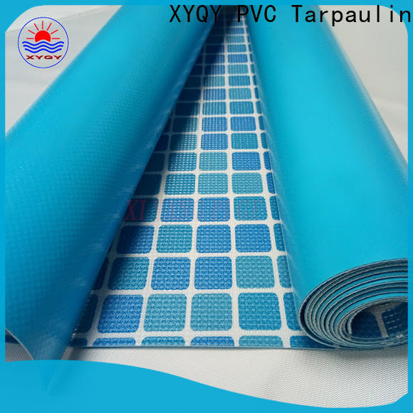 XYQY size pvc membrane swimming pool manufacturers for swimming pool backing