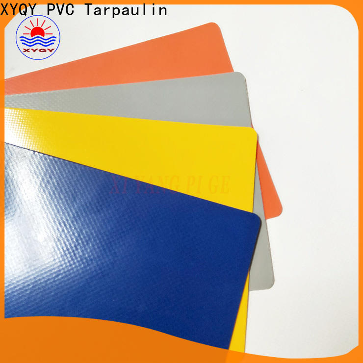 XYQY with good quality and pretty competitive price tarpaulin fabric Supply for outdoor