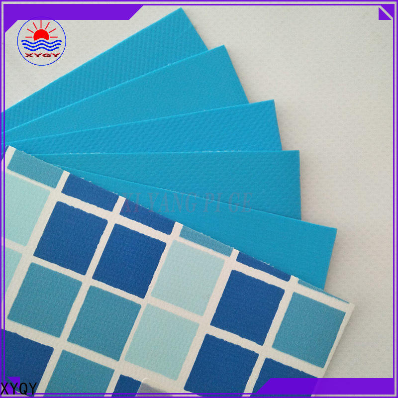 XYQY coated swimming pool pvc liner company for swimming pool backing