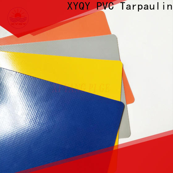 XYQY tarpaulin pvc coated tarpaulin fabric suppliers factory for outdoor