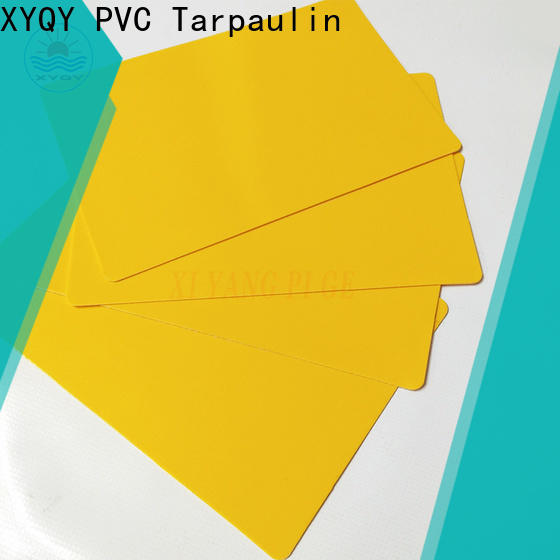 XYQY high quality pvc coated tarpaulin fabric manufacturers for outdoor