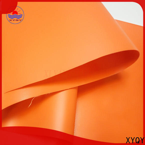XYQY with high tearing reinforced pvc fabric manufacturers for outside