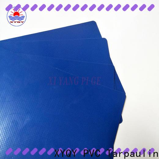 XYQY tensile tarpaulin materials fabrics factory for rolling door