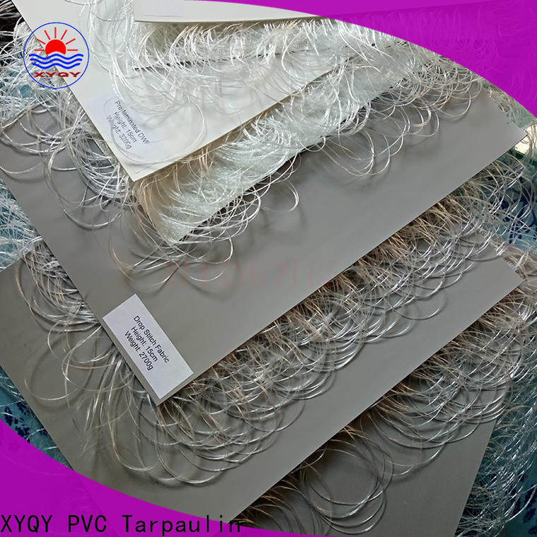 XYQY pvc pvc coated fabric Suppliers for boat flooring