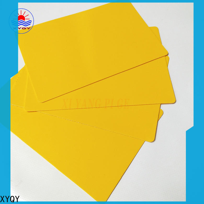 XYQY fabric pvc coated tarpaulin fabric suppliers factory for rolling door