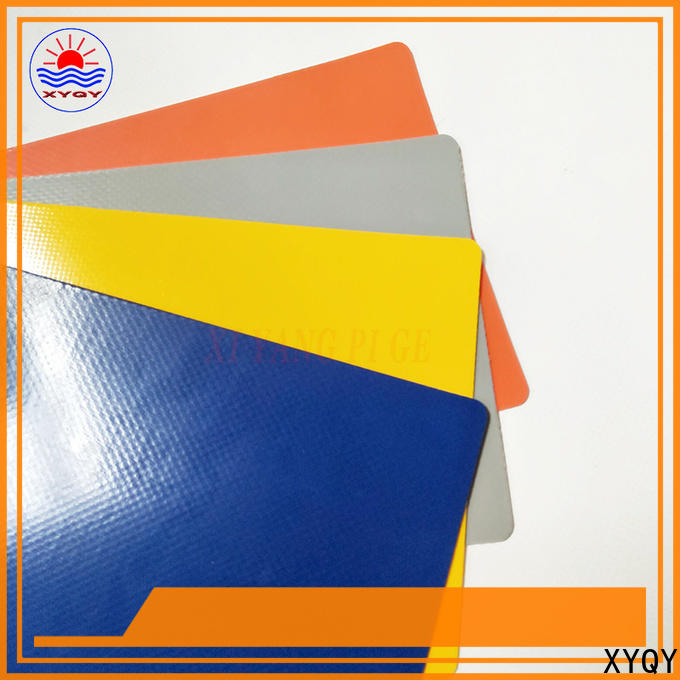 XYQY custom pvc coated tarpaulin fabric suppliers Supply for outdoor