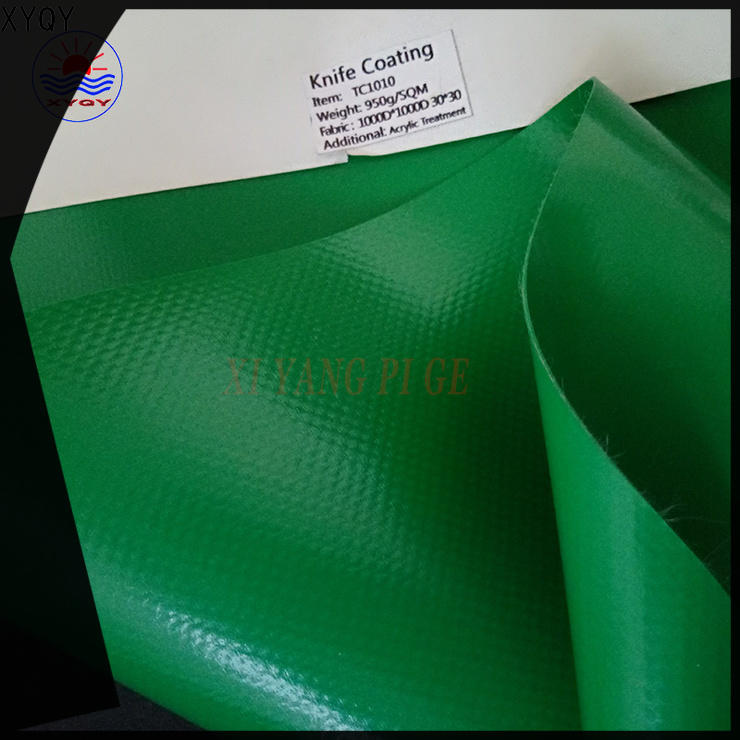 XYQY tension pvc coated tarpaulin for business for inflatable membrance