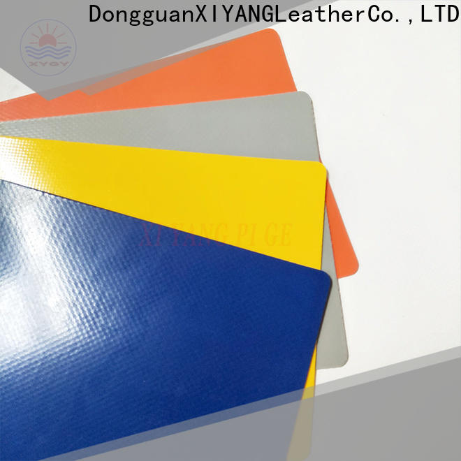 XYQY colorful tarpaulin fabric for rolling door