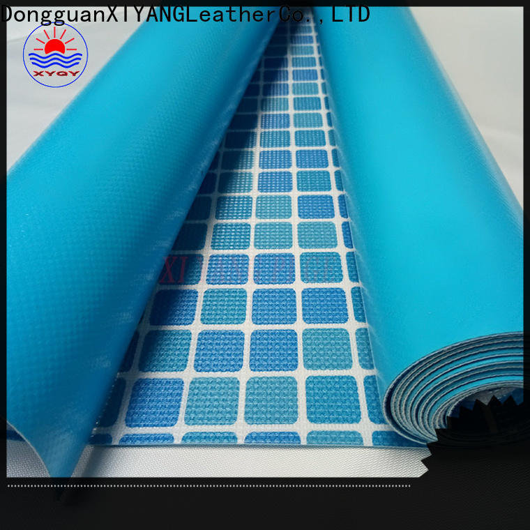 XYQY pool vinyl pool liner manufacturers for swimming pool backing