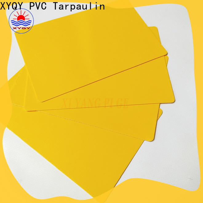 High-quality pvc tarpaulin fabric coated company for outdoor