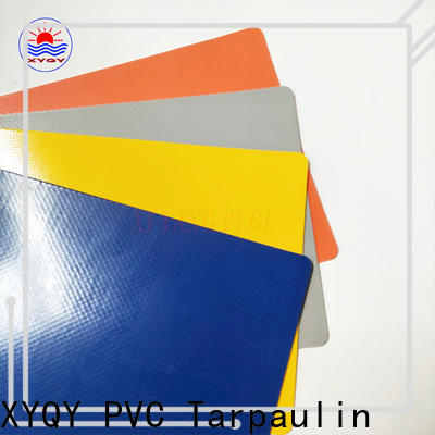 XYQY coated tarpaulin materials fabrics manufacturers for outdoor