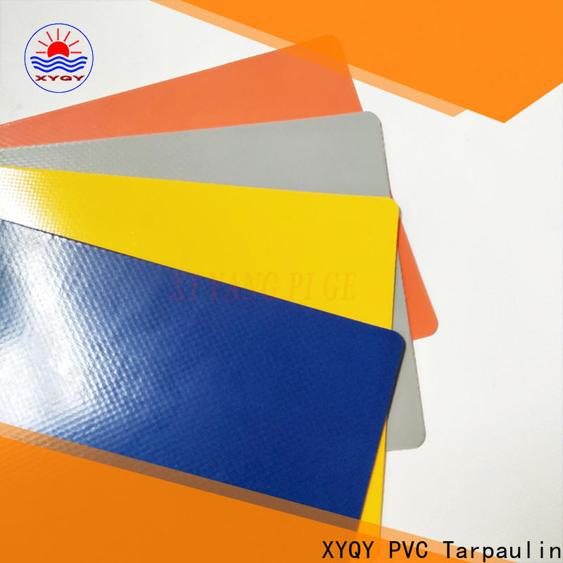 XYQY tensile pvc coated tarpaulin fabric for outdoor
