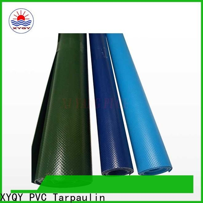XYQY durable pvc tarpaulin price factory for sport