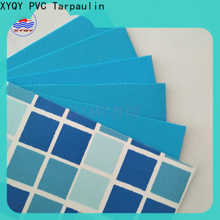 XYQY material 14 foot round pool liner manufacturers for swimming pool backing
