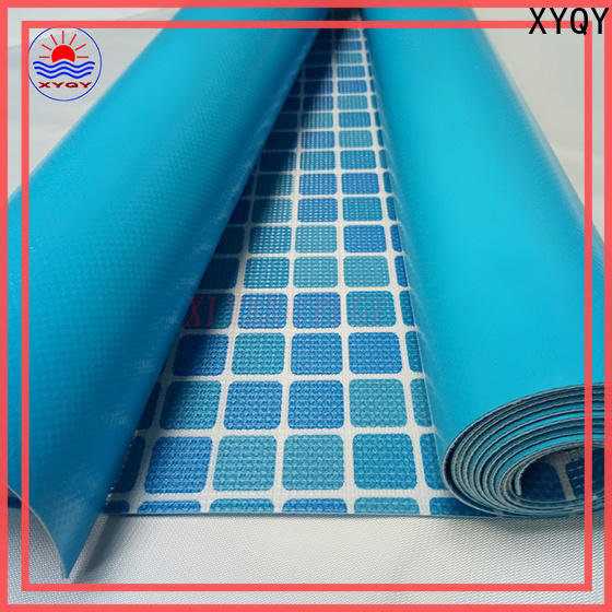 XYQY fabric 24 foot round beaded pool liner manufacturers for swimming pool backing