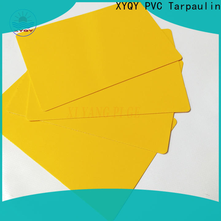 XYQY Wholesale pvc coated tarpaulin fabric company for outdoor