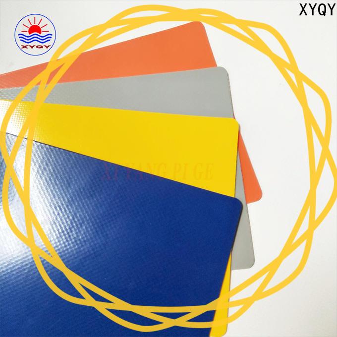 XYQY Custom tarpaulin fabric factory for rolling door