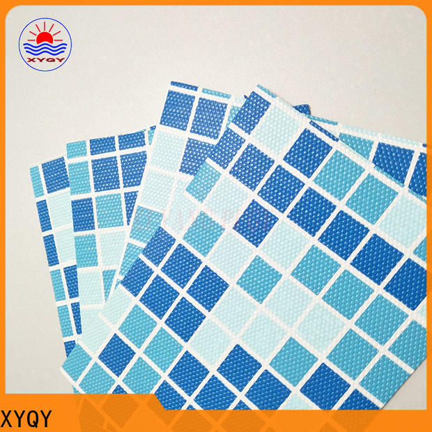 XYQY UV Resistant pvc membrane swimming pool company for men