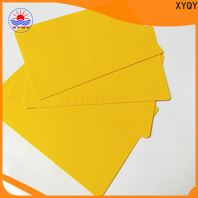 XYQY rolling pvc tarpaulin fabric for outdoor