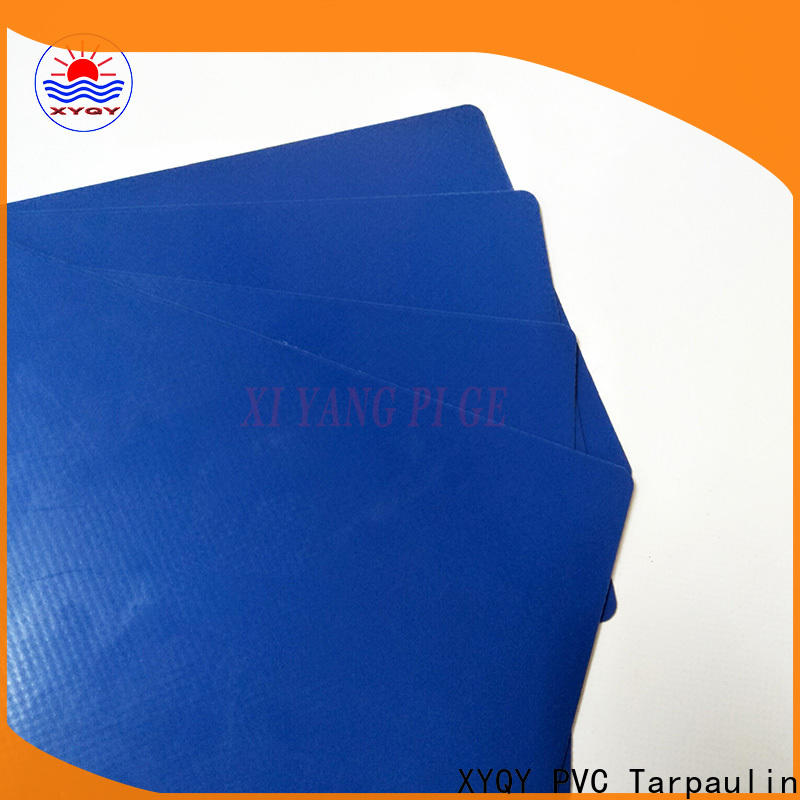 XYQY rolling pvc coated tarpaulin fabric manufacturers for outdoor
