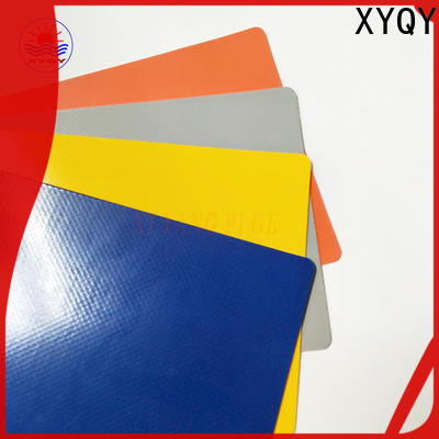 XYQY coated tarpaulin fabric suppliers for rolling door