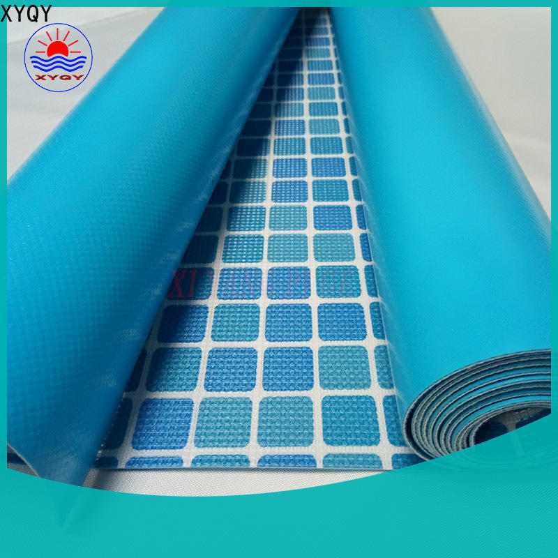 XYQY Custom 24 ft round pool liner pad Supply for swimming pool backing