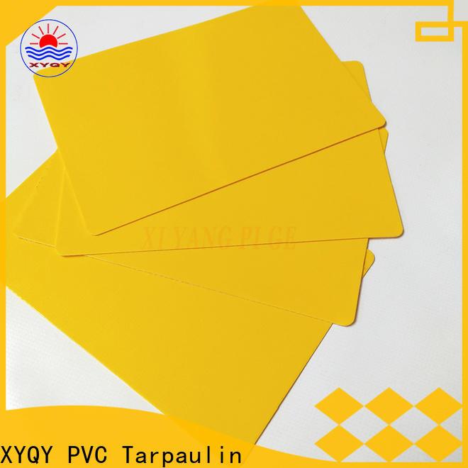 XYQY door pvc coated tarpaulin fabric company for rolling door