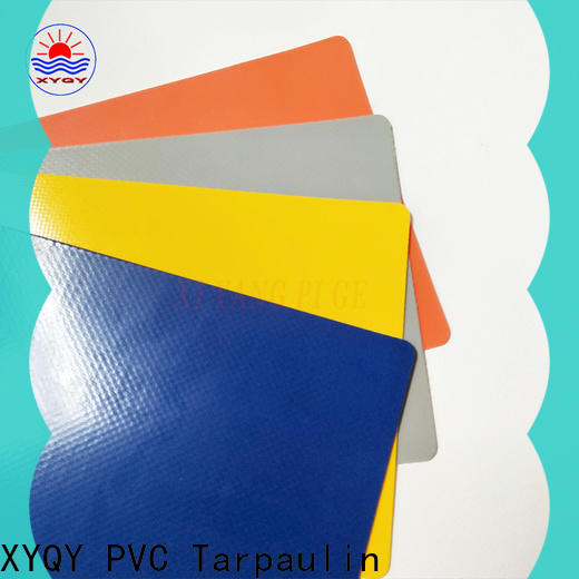 XYQY strength pvc coated tarpaulin fabric suppliers for outdoor