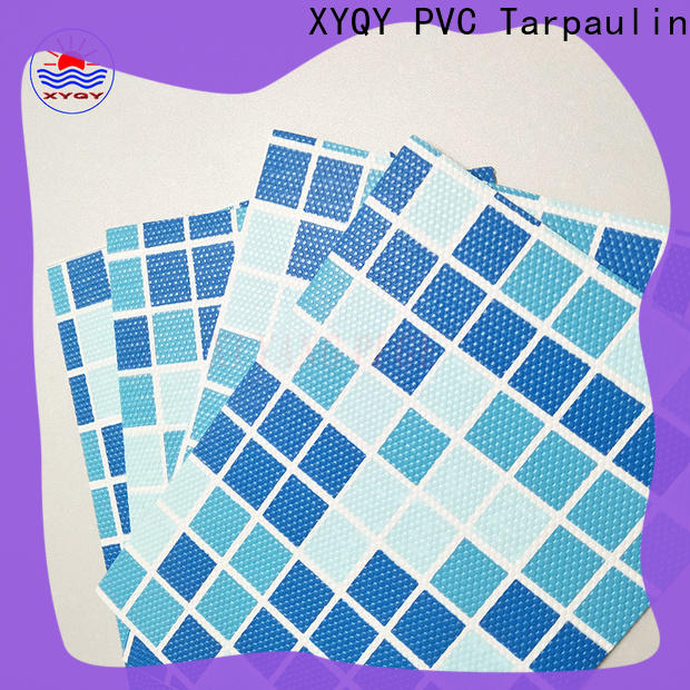 XYQY UV Resistant 24 foot round beaded pool liner manufacturers for swimming pool