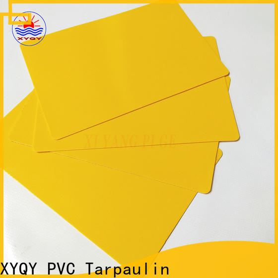 XYQY tensile tarpaulin materials fabrics for outdoor