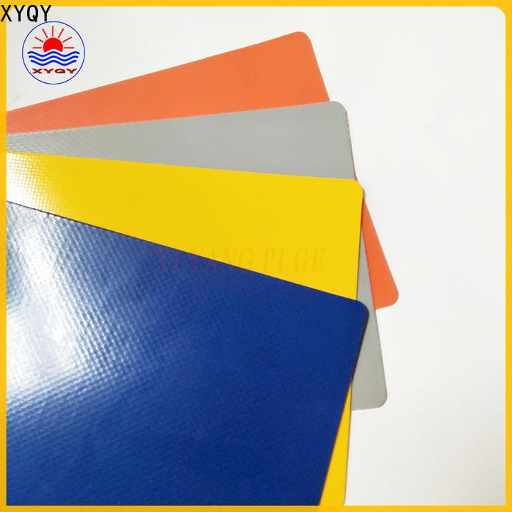 custom pvc coated tarpaulin fabric rolling factory for rolling door