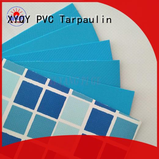 XYQY fabric 12x24 oval above ground pool liners for business for swimming pool backing