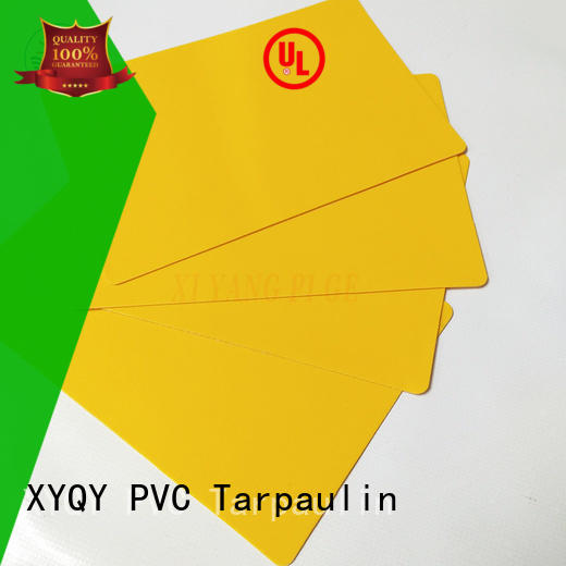 XYQY Brand container waterproof rolling door tarpaulin fabric side supplier