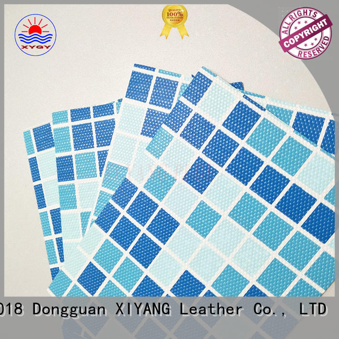 XYQY swimming clear pvc fabric on sale for swimming pool