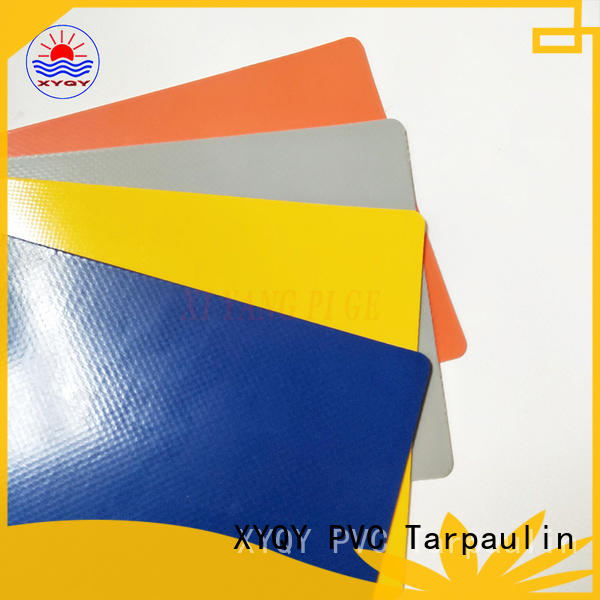 XYQY pvc Tarpaulin Fabric for Rolling Door for business for outdoor