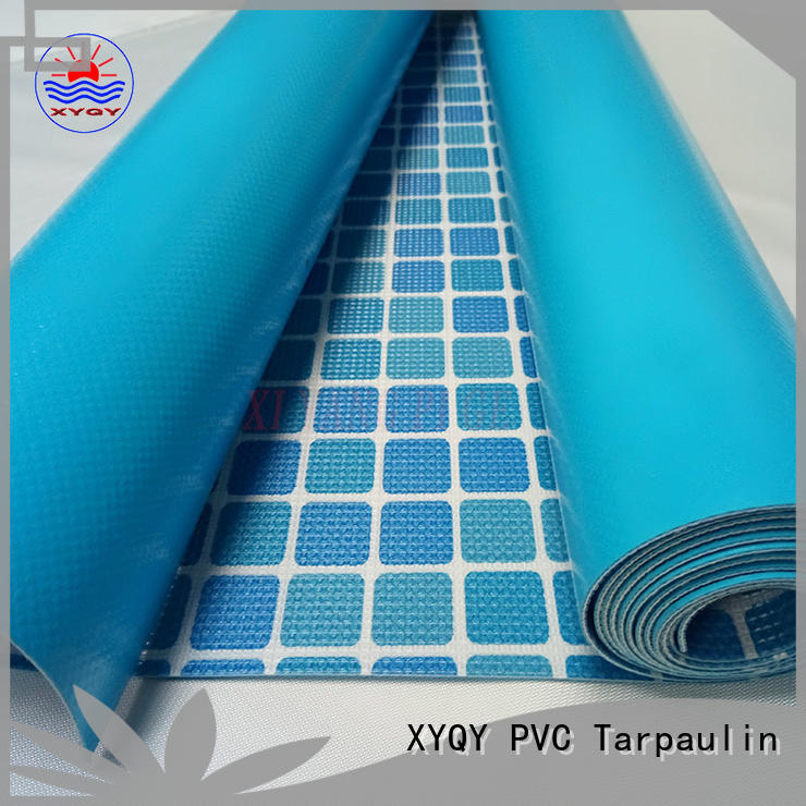 high quality pvc tarpaulin fabric size manufacturers for swimming pool backing