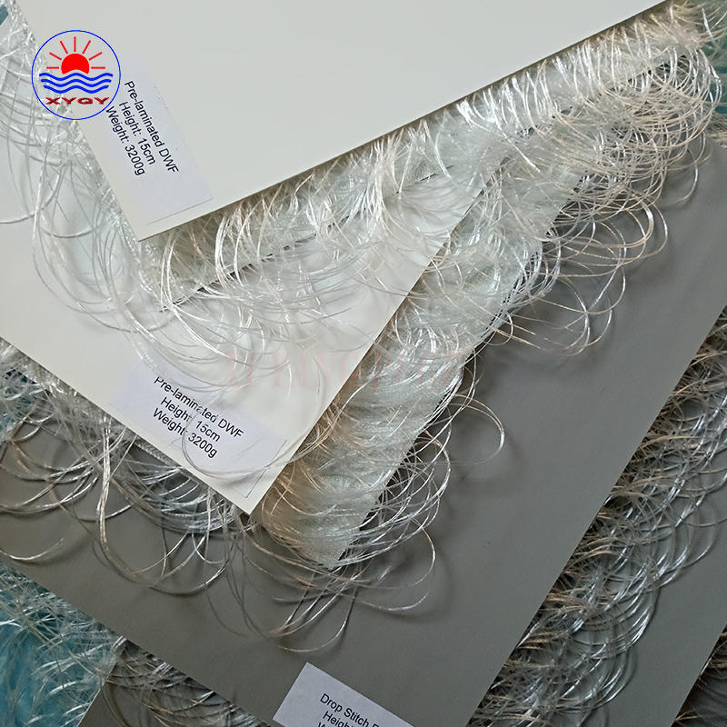 Widely used inflatable boat pvc tarpaulin drop stitch fabric