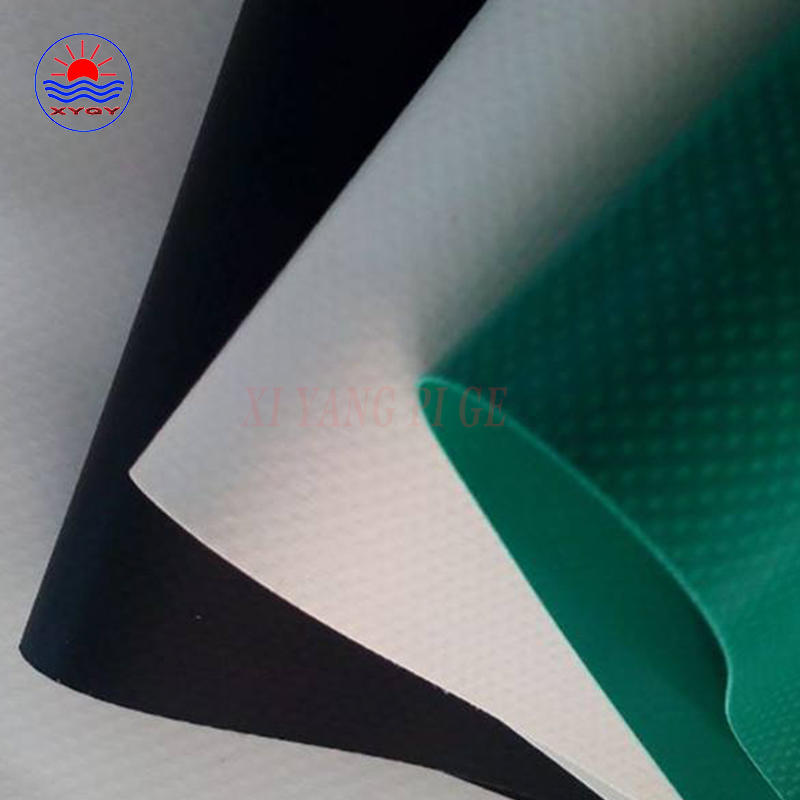 PVC tarpaulin fabric for building membrane protection membrane