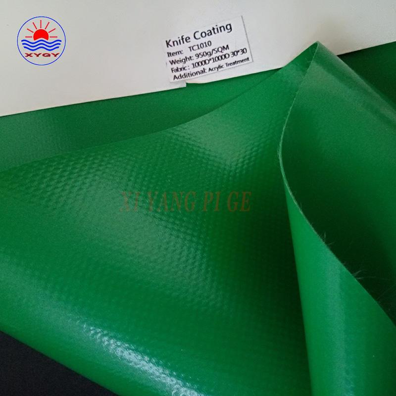 PVC tarpaulin membrane fabric used for carport