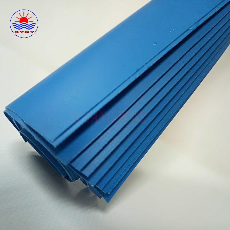 Waterproof vinyl coated PVC polyester truck tarp fabric