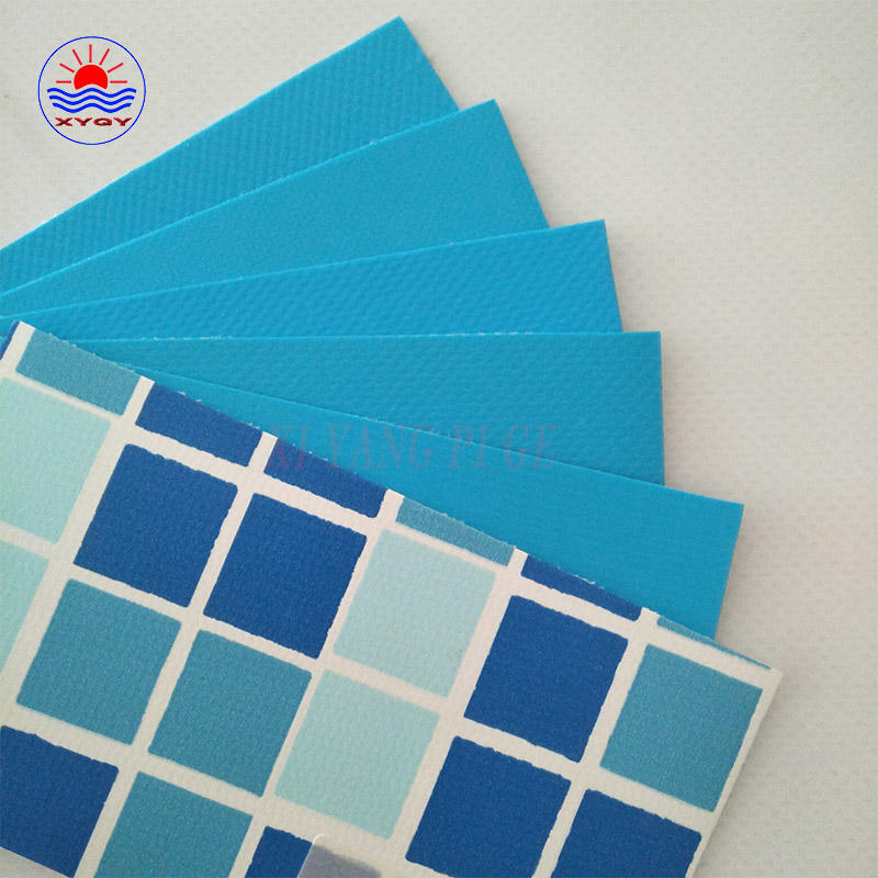 PVC coated tarpaulin swimming pool backing fabric