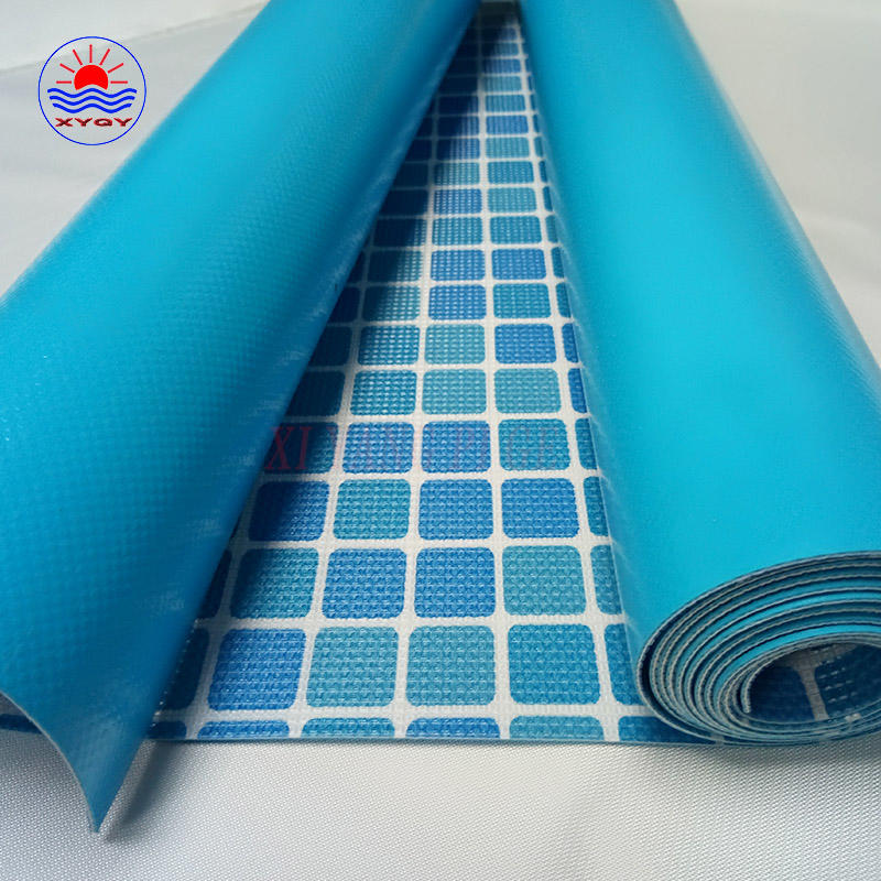 PVC coated fabric material for swimming pool backing