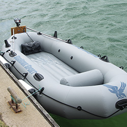 with high tearing patching pvc inflatable boat fabric for business for outside-17