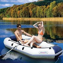 XYQY waterproof pvc inflatable boat with high tearing for outside-19