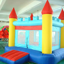 XYQY Custom large bouncy castle with slide manufacturers for inflatable games tarp-16