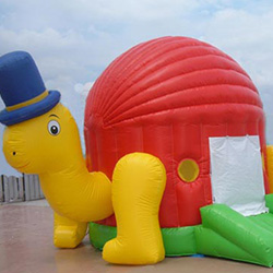 XYQY Custom large bouncy castle with slide manufacturers for inflatable games tarp-17