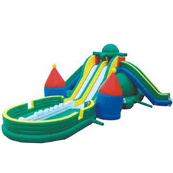 XYQY fire retardent jumping castle water slide for sale for business for indoor-17