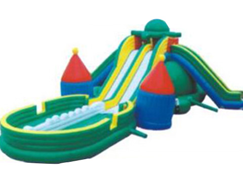 XYQY fire retardent jumping castle water slide for sale for business for indoor-23
