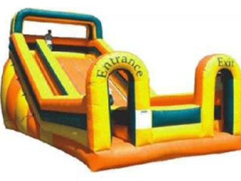 Latest large bouncy castle with slide tarp factory for kids-27