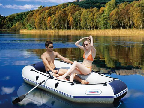 XYQY waterproof pvc inflatable boat with high tearing for outside-20